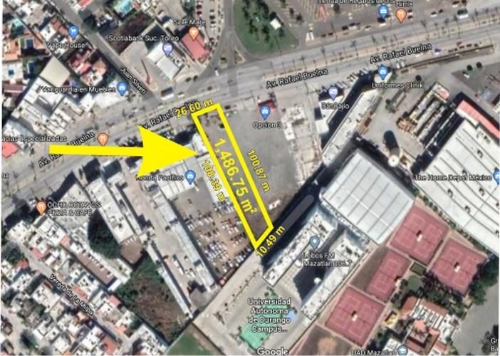 Terreno en venta en Avenida Rafael Buelna
